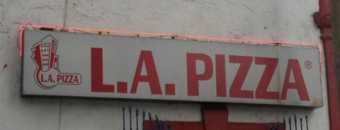 L.A. Pizza is one of Lugares favoritos de Raúl.