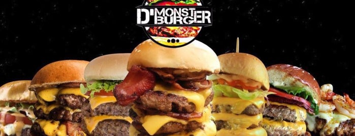 D' Monster Burger is one of Jesus 님이 좋아한 장소.