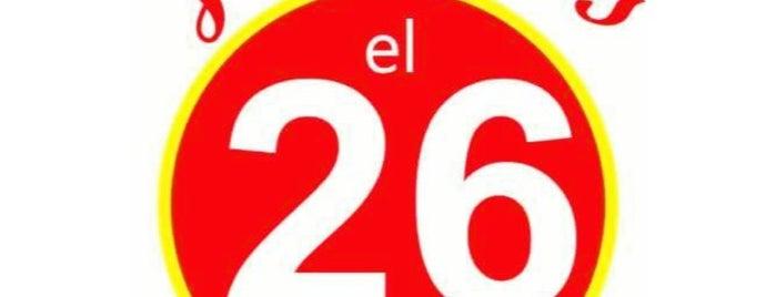 Juanito's el 26 is one of Monterrey.