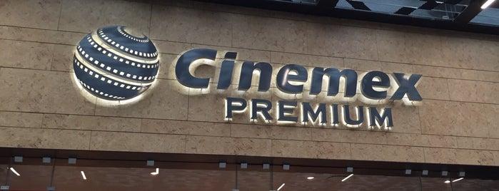 Cinemex Premium is one of Andrea : понравившиеся места.