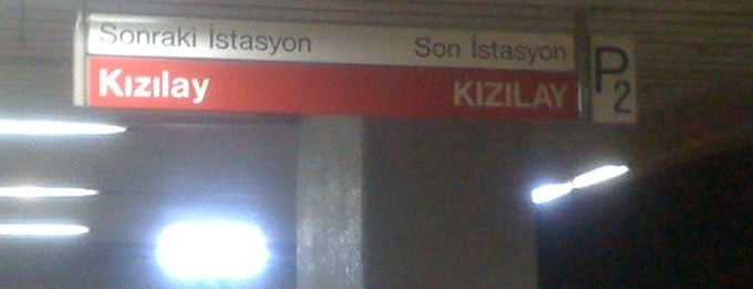 Sıhhiye Metro İstasyonu (M1) is one of my love Ankara.
