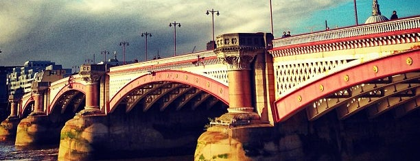 Blackfriars Bridge is one of london.