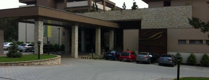 Hotel DIPLOMAT is one of Orte, die Martina gefallen.