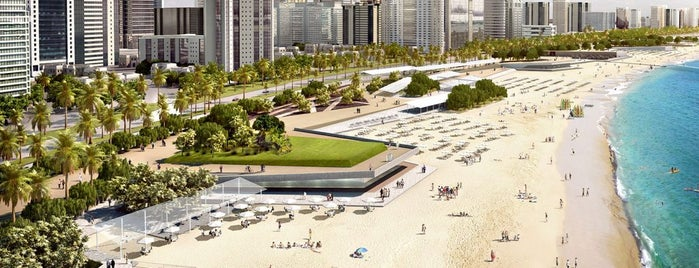Corniche Family Beach Park is one of Best things to do in Abu Dhabi.