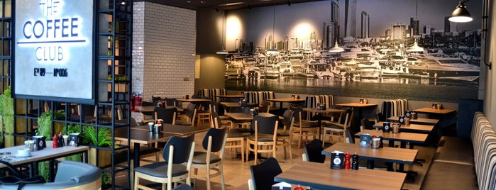 The Coffee Club is one of Coffee/Dessert locations in Abu Dhabi.