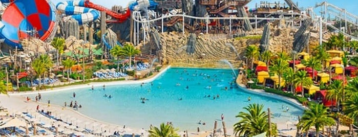 Yas Water World Abu Dhabi is one of Best things to do in Abu Dhabi.