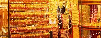 Madinat Zayed Gold Souk is one of Best shopping venues in Abu Dhabi.