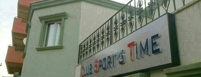 Club Sport's Time is one of สถานที่ที่บันทึกไว้ของ Emre.