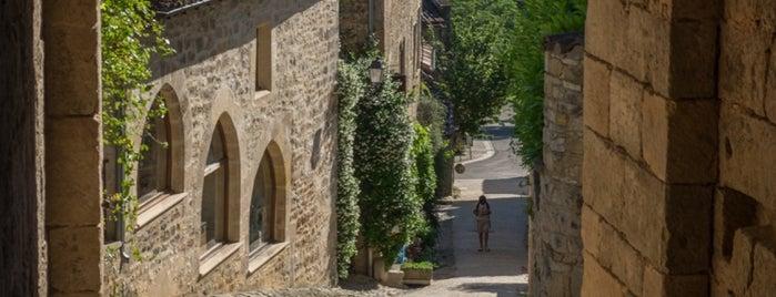 Bruniquel is one of Les plus beaux villages de France.