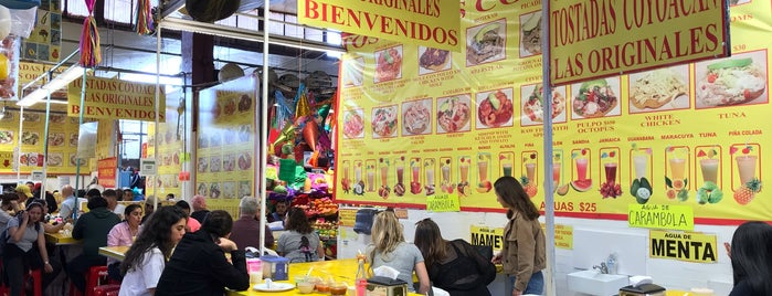 Mercado de Coyoacán is one of Mexico City 2018.