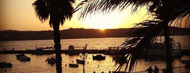 Port Buġibba is one of VISITAR Malta.