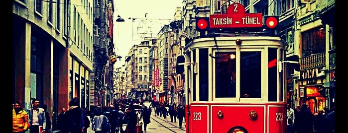 İstiklal Caddesi is one of تركيا.