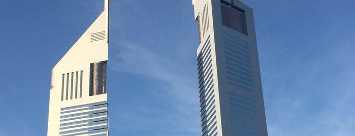 Emirates Towers is one of สถานที่ที่ María ถูกใจ.