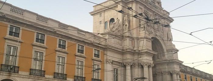Praça do Comércio (Terreiro do Paço) is one of Posti che sono piaciuti a María.