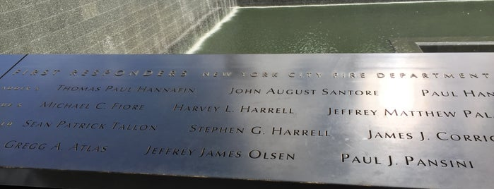 9/11 Memorial Preview Site is one of Posti che sono piaciuti a María.