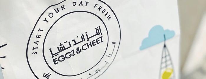 EGGZ & CHEEZ is one of Riyadh Breakfast.