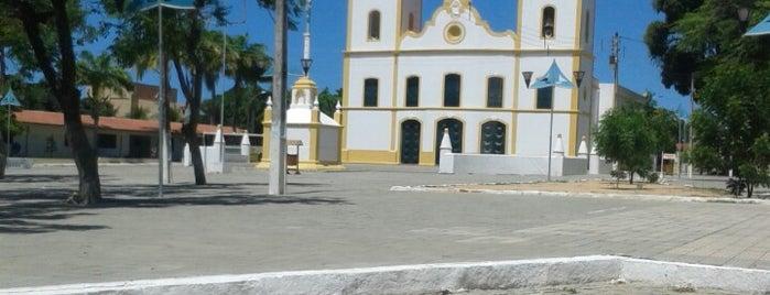 Praça da Igreja Matriz de Aquiraz is one of Lugares guardados de Arquidiocese de Fortaleza.