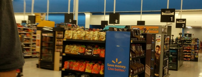Walmart Supercenter is one of Meggle's Liked Places.