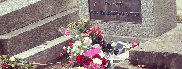 Tombe de Jim Morrison is one of France.
