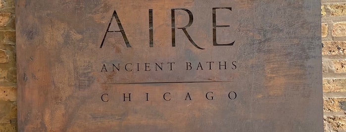 Aire Ancient Baths is one of Chicago.
