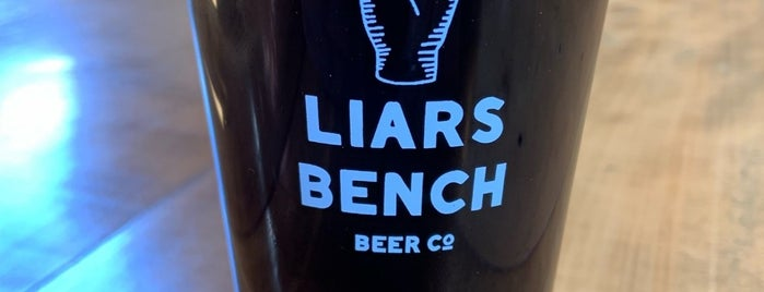 The Liars Bench Beer Company is one of Because Foursquare F*cked Up Their List Feature 2.