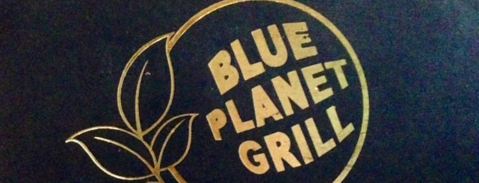 Blue Planet Grill is one of New York TOP Places.