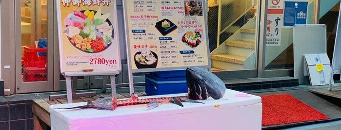 築地すし一番 4丁目場外市場店 is one of Orte, die okera gefallen.