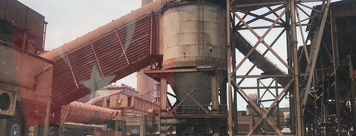 İskenderun Demir Çelik Fabrikası is one of สถานที่ที่ Utku ถูกใจ.