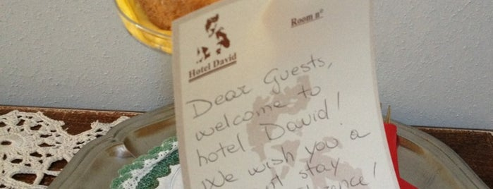 Hotel David is one of Josh : понравившиеся места.