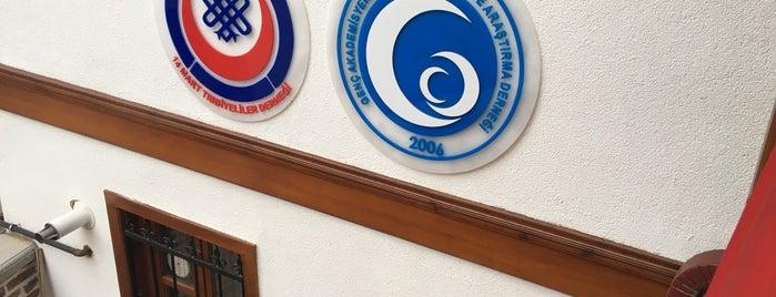 Genç Akademisyenler Eğitim Kültür ve Araştırma Derneği is one of Orte, die Berkan gefallen.