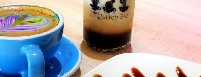 S3 Coffee Bar is one of Café Style.