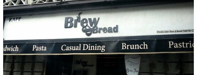 Brew & Bread is one of Kopi Places.