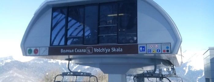 Волчья скала / Volch'ya Skala is one of Lugares favoritos de Ника.