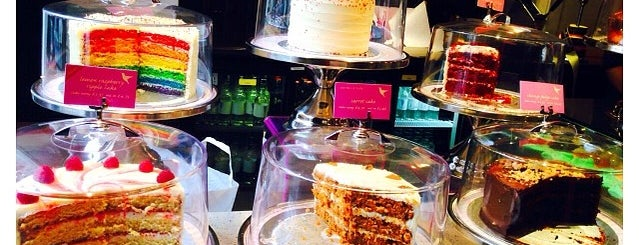 The Hummingbird Bakery is one of London Food.