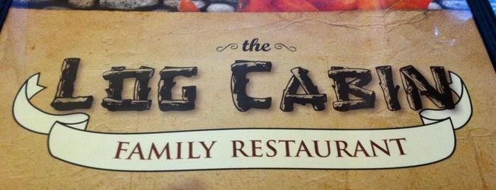 Log Cabin Family Restaurant is one of Locais curtidos por Jillian.