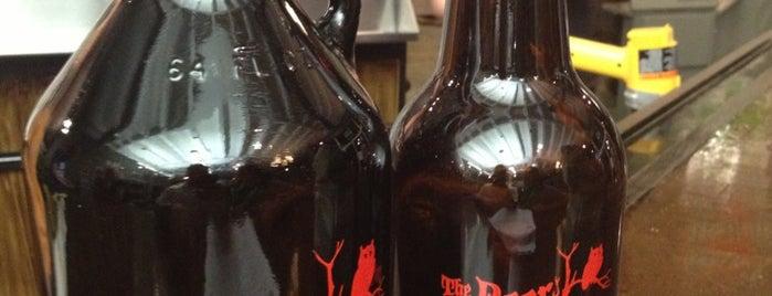 The Beer Growler is one of Savannah.
