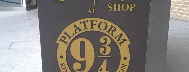 The Harry Potter Shop at Platform 9¾ is one of England (insert something witty here).
