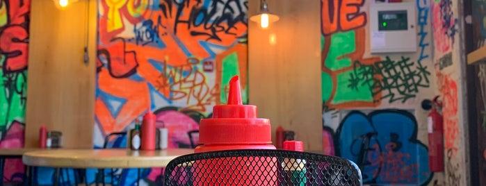 Graffiti Burger is one of Dubai.2.