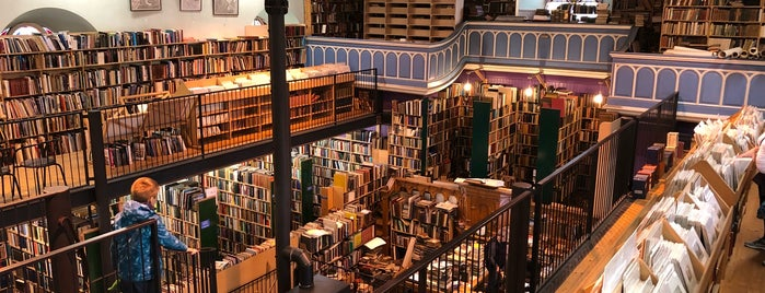 Leakey's Bookshop is one of Scotland.