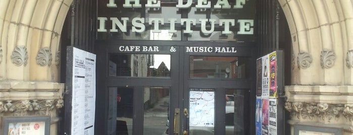 The Deaf Institute is one of Burgers in Manchester.