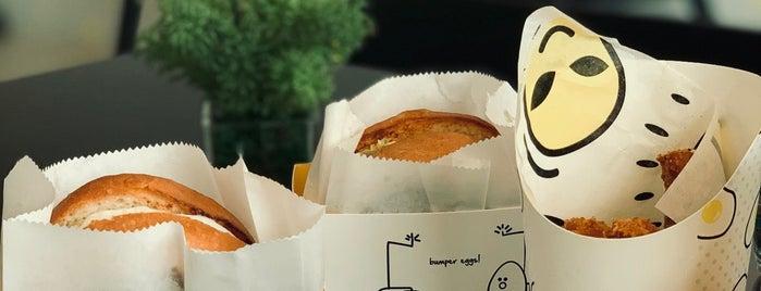 Eggsplosion is one of Breakfast spots.
