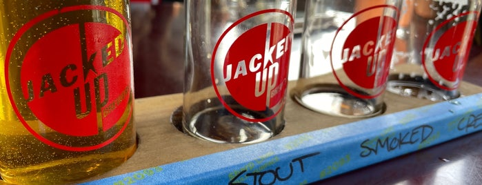 Jacked Up Brewery is one of Craft Brew 2 the Max.