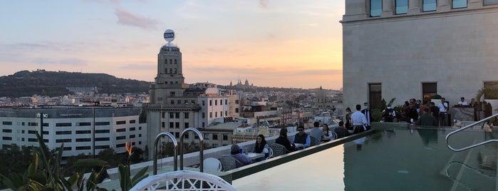 SKY Bar Terrace Paseo De Gracia is one of NYC➡️SPAIN➡️FRANCE➡️ITALY Trip.