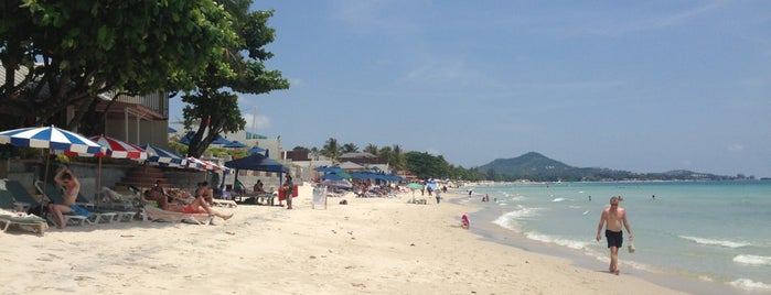 Chaweng Beach is one of Sehirler.