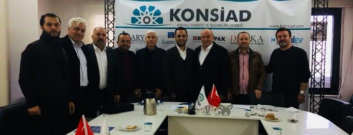 Konsiad is one of Kuyumcu.