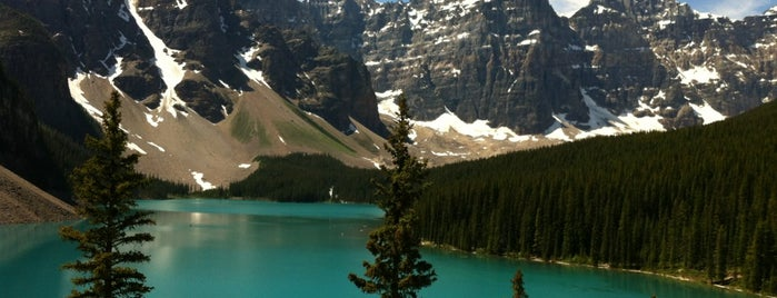 Moraine Lake is one of Qué visitar.