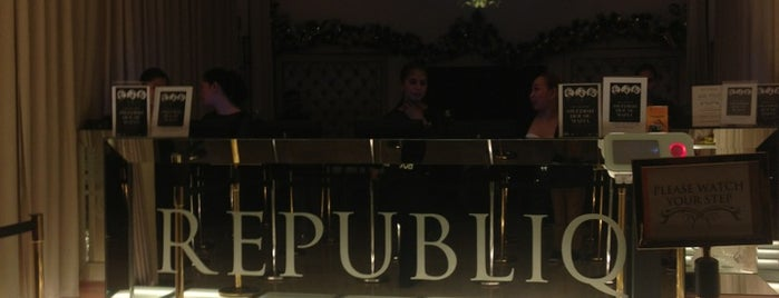 Republiq is one of Must Visit Bars.