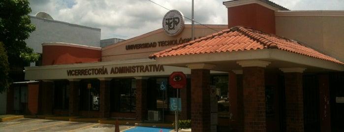 Universidad Tecnológica de Panamá - Campus Central Dr. Víctor Levi Sasso is one of Locais curtidos por Joaquin.