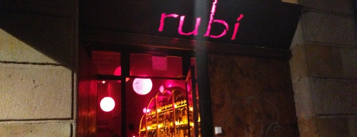 Rubi Bar is one of BCN Bars & Cocktails.