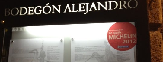 Bodegón Alejandro is one of San Seb.